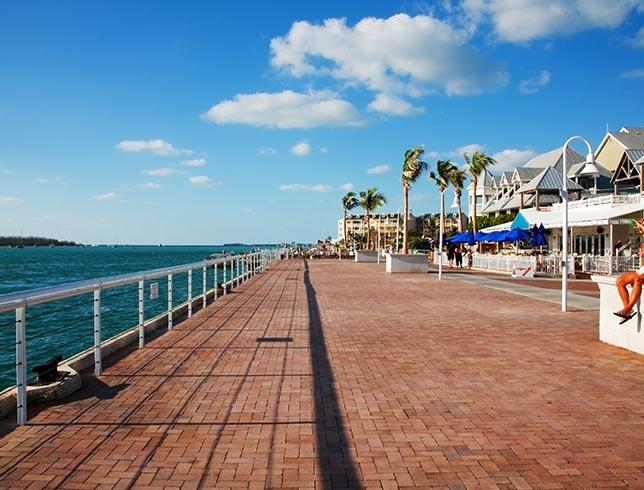 Key West Mallory Square, Florida