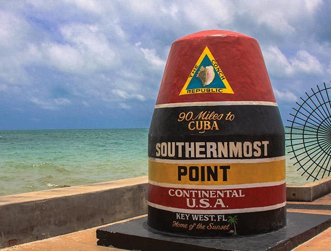 Southernmost Point in the U.S.