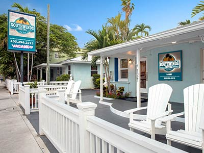 Location of Southwinds Motel Key West