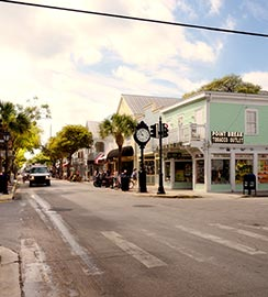 Walking Distance to Duval Street in Key West